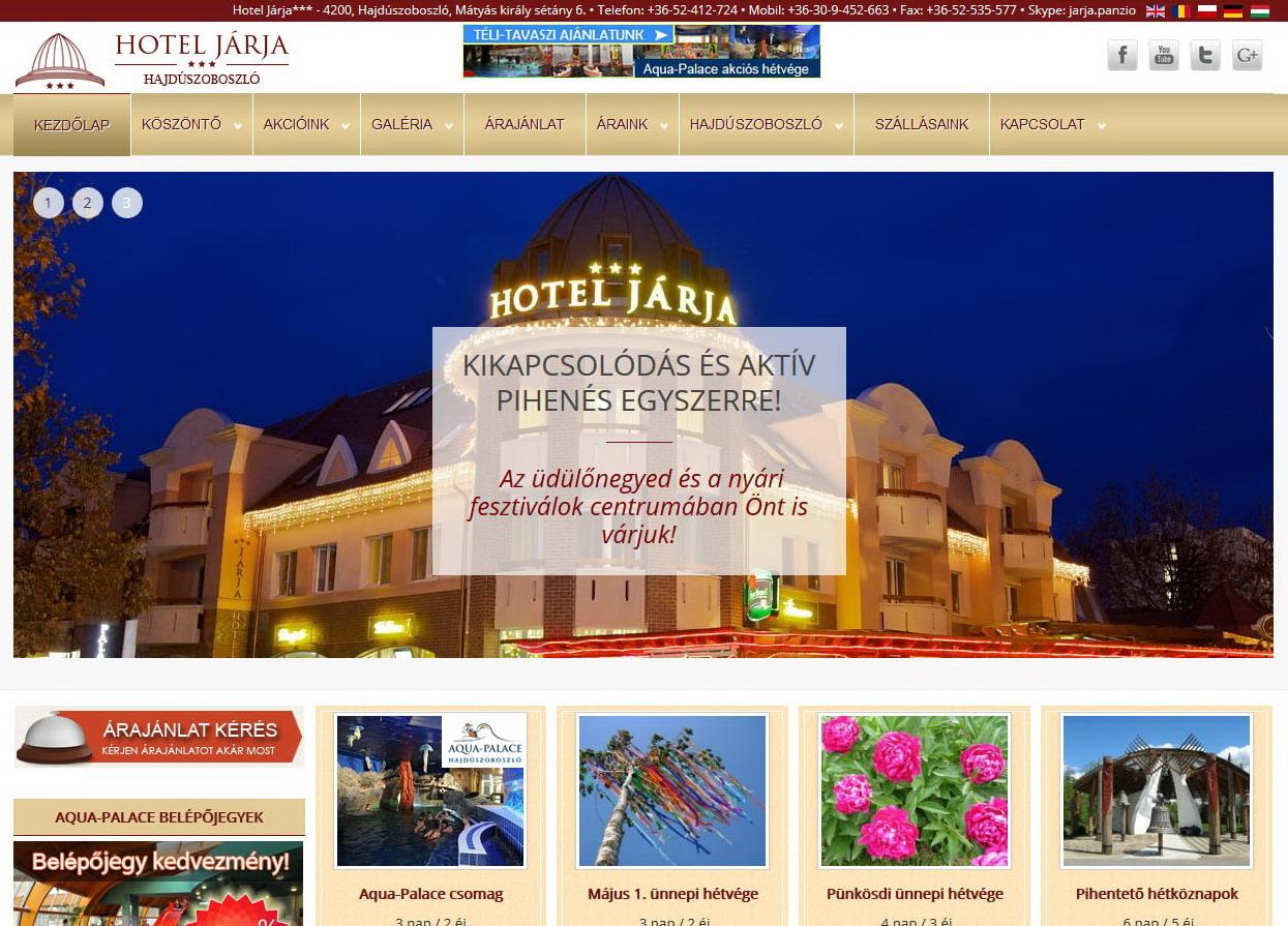Hotel Járja*** – Hajdúszoboszló