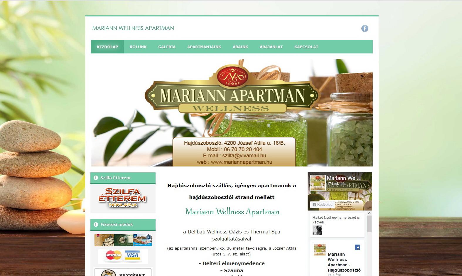 Mariann Apartman – Hajdúszoboszló