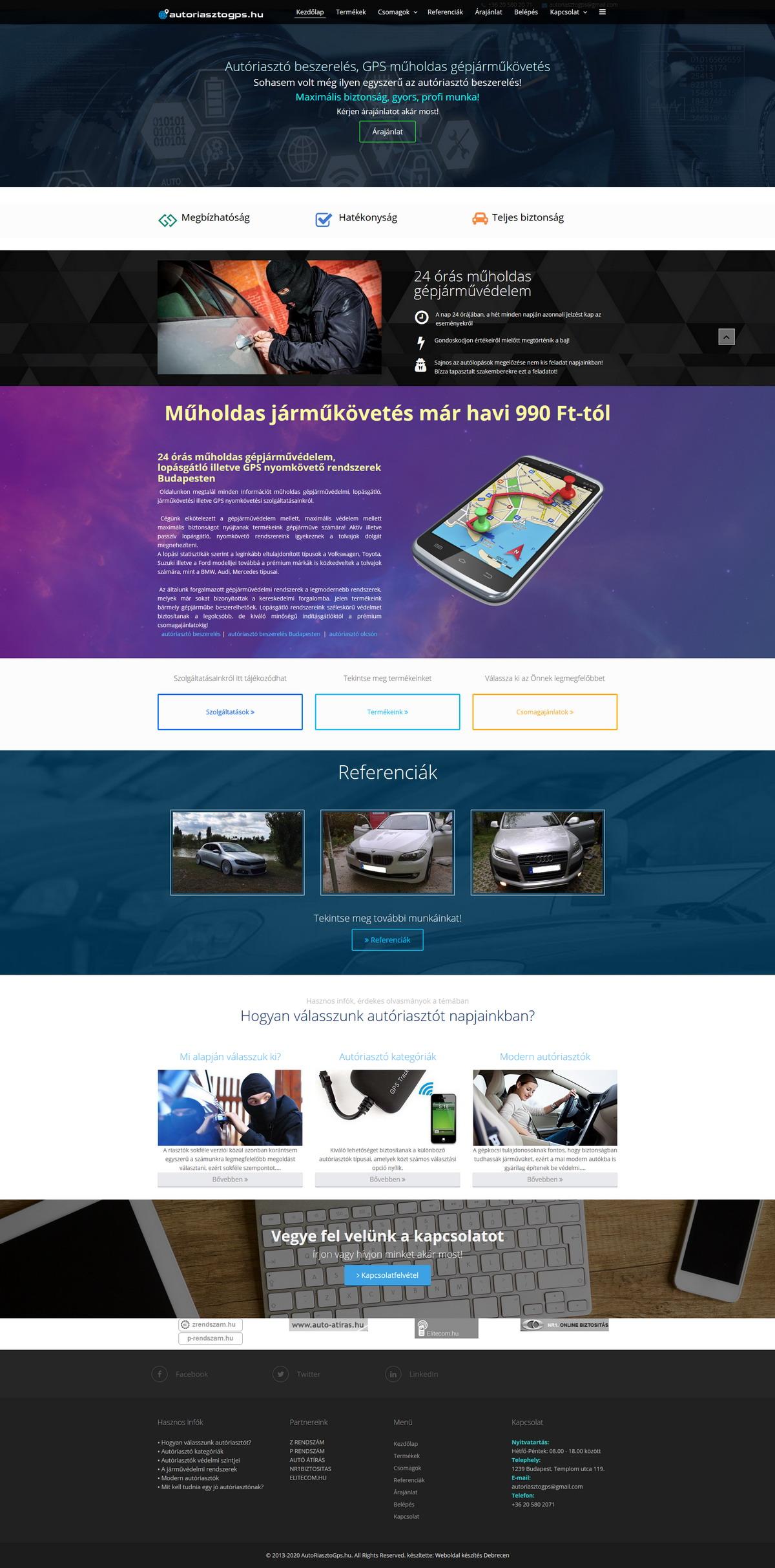 Autoriasztogps.hu | Autóriasztó Beszerelés Budapest