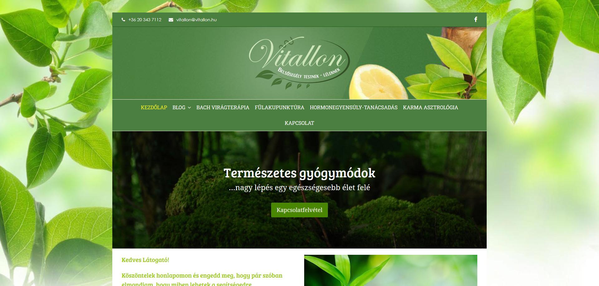 Vitallon.hu | Természetes Gyógymódok